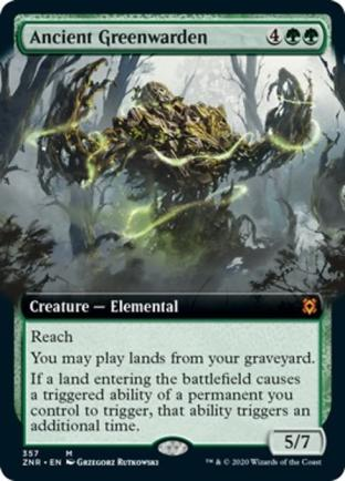 Extended Art Ancient Greenwarden