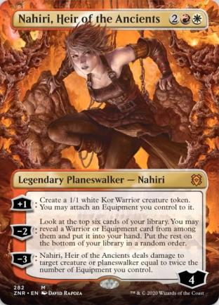 Nahiri, Heir of the Ancients (Borderless)