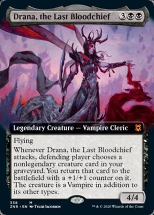 Extended Art Drana, the Last Bloodchief