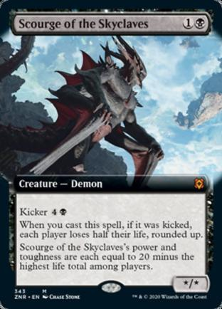 Extended Art Scourge of the Skyclaves