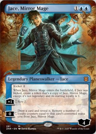 Jace, Mirror Mage (Borderless)