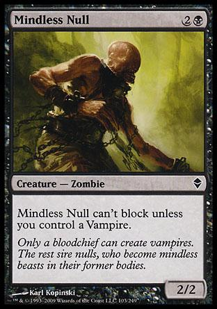 Mindless Null