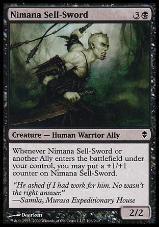 Nimana Sell-Sword