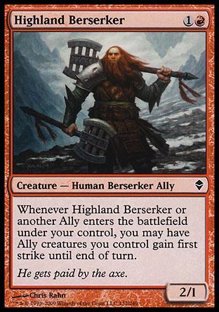 Highland Berserker