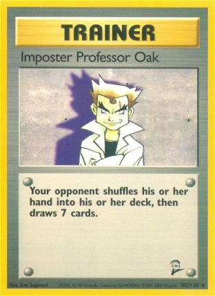 Imposter Professor Oak