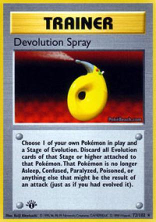 Devolution Spray