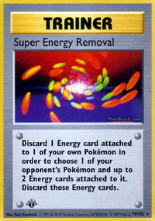 Super Energy Removal