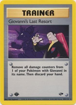 Giovanni's Last Resort
