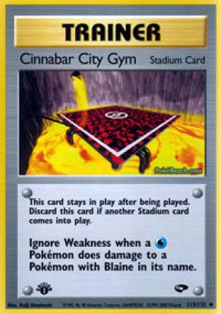 Cinnabar City Gym