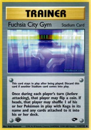 Fuchsia City Gym