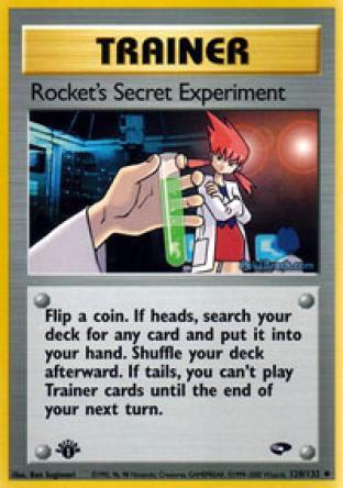 Rocket's Secret Experiment