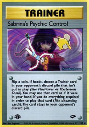 Sabrina's Psychic Control