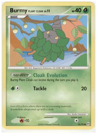 Burmy Plant Cloak Lv.11