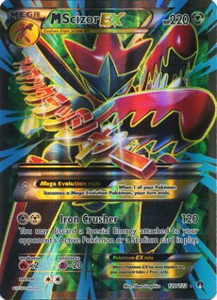 M Scizor EX (Full Art)