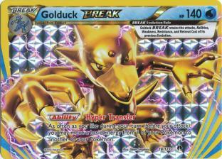 Golduck BREAK