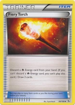 Fiery Torch (Non-Foil)
