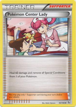 Pokemon Center Lady