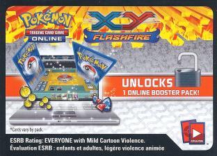 XY Flashfire Online Code Card (1 Digital Pack)