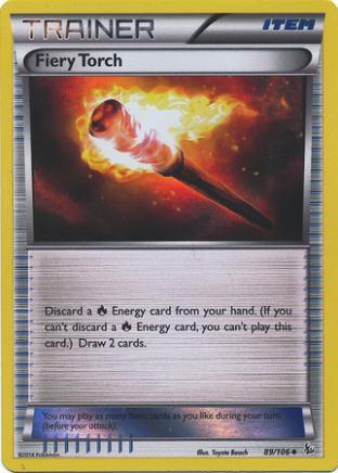 Fiery Torch (Foil)