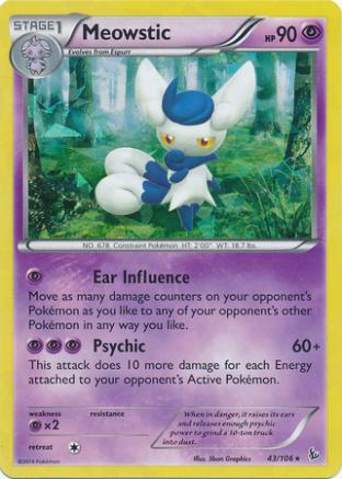 Meowstic (Shattered Foil)
