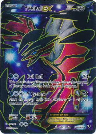 Yveltal EX (Full-Art)