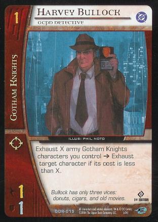 Harvey Bullock,  GCPD Detective