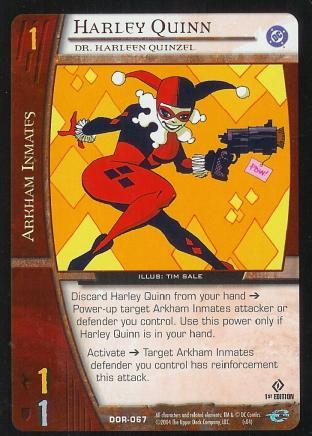 Harley Quinn,  Dr. Harleen Quinzel