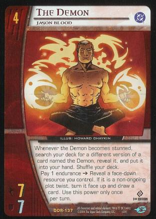 The Demon,  Jason Blood