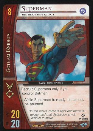 Superman,  Big Blue Boy Scout