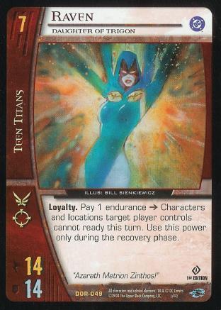 Raven,  Daughter of Trigon