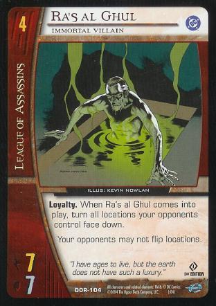 Ra's al Ghul,  Immortal Villain