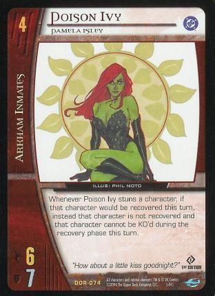 Poison Ivy,  Pamela Isley