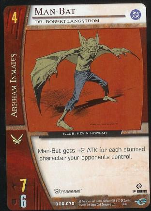 Man-Bat,  Dr. Robert Langstrom