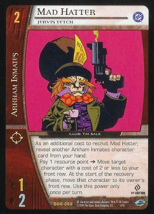 Mad Hatter,  Jervis Tetch