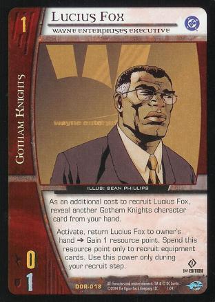 Lucius Fox,  Wayne Enterprises Executive