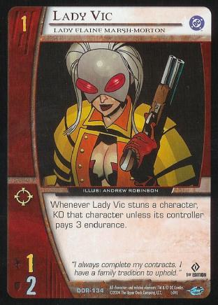 Lady Vic,  Lady Elaine Marsh-Morton