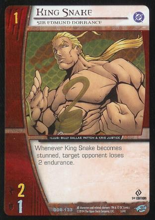 King Snake,  Sir Edmund Dorrance