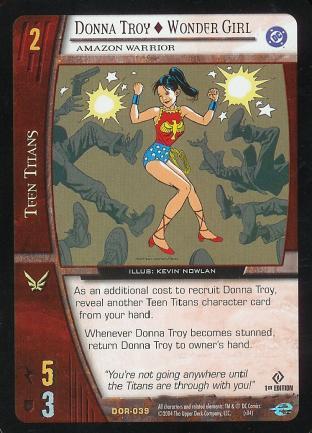Donna Troy - Wonder Girl,  Amazon Warrior