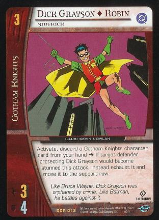 Dick Grayson - Robin,  Sidekick