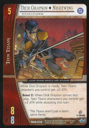 Dick Grayson - Nightwing,  Titan Leader