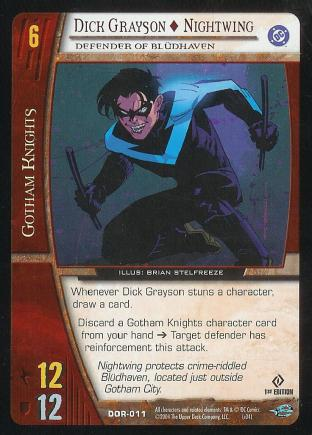 Dick Grayson - Nightwing,  Defender of Bludhaven