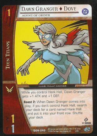 Dawn Granger - Dove,  Agent of Order
