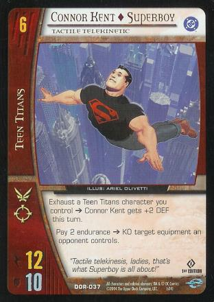 Connor Kent - Superboy,  Tactile Telekinetic