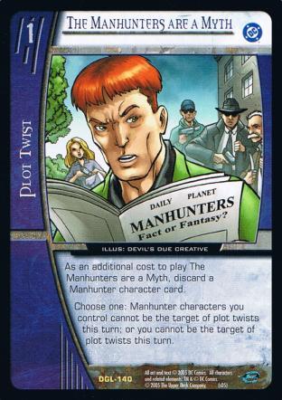 The Manhunters are a Myth