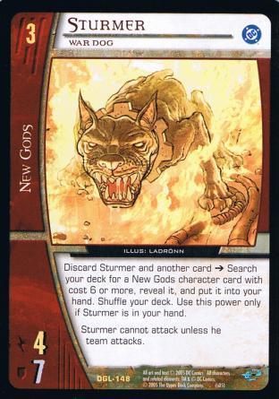 Sturmer, War Dog