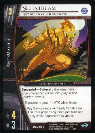 Slipstream, Qwardian Conglomerate