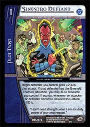 Sinestro Defiant