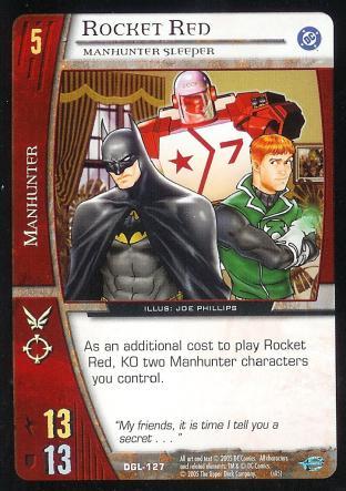 Rocket Red, Manhunter Sleeper