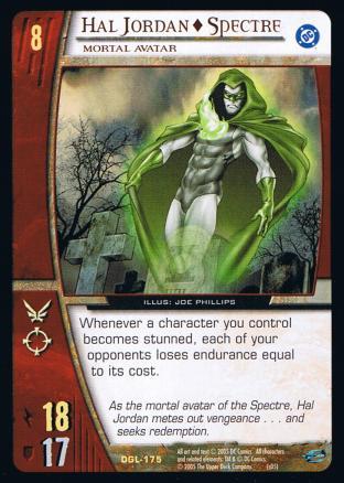Hal Jordan - Spectre, Mortal Avatar