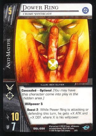 Power Ring, Crime Syndicate